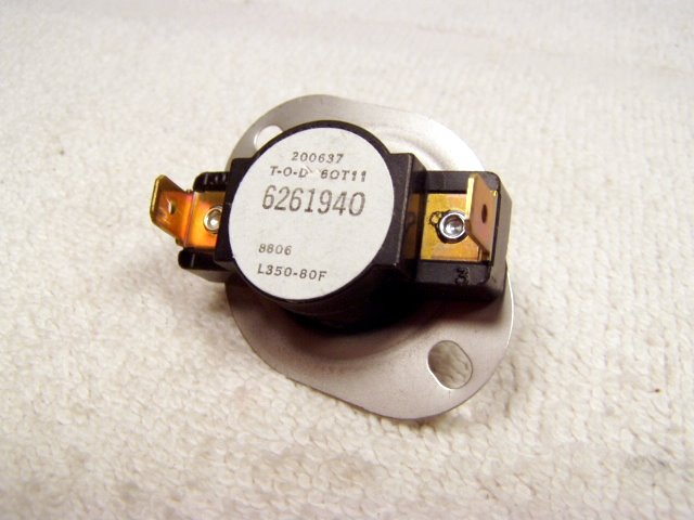 626194 mobile home furnace limit switch.