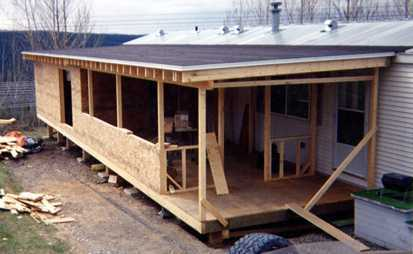 Manufactured Home Additions And Roofed Decks Manual
