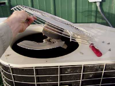 Cleaning an AC Unit