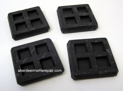 Absorption pads for washing machine.
