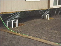 Exterior Mobile Home Basement Finish Work