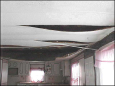 Mobile Home Ceiling Panels Replacement