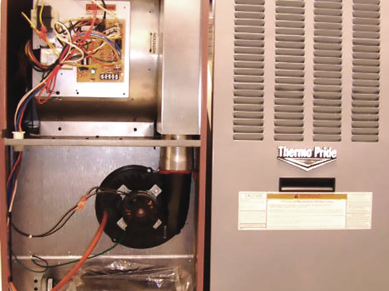 How a Typical Mobile Home Gas Furnace Works