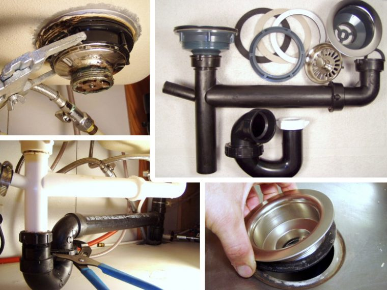 How to Remove & Fix a Kitchen Sink Drain