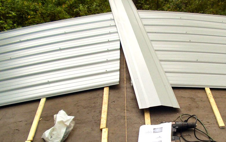 Mobile Home Metal Roof Options