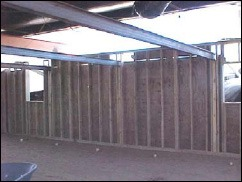 Mobile Home Support Beams