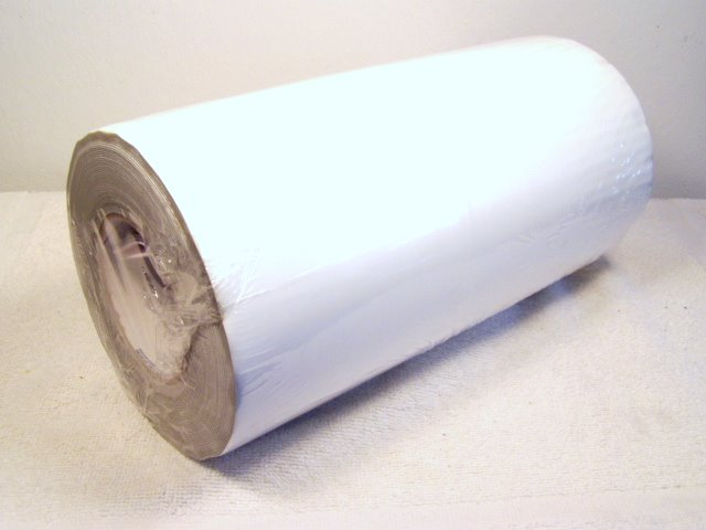 12x50 roll of white repair tape.