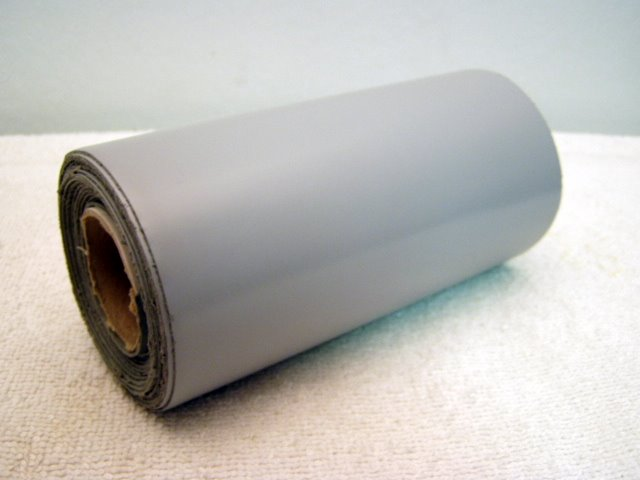 6x10 roll of gray repair tape.