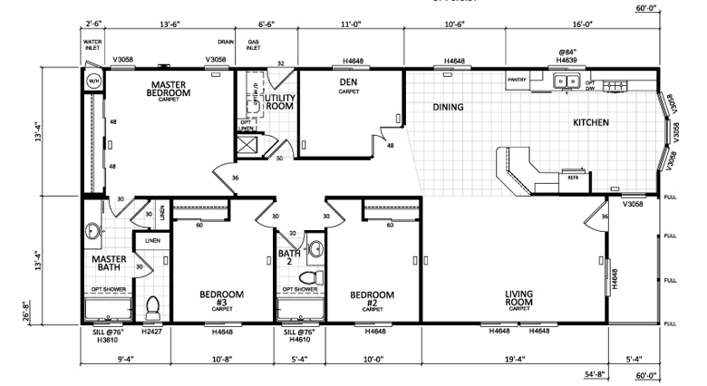 Mobile Home Floor Plans Single Wide Amp Double Wide