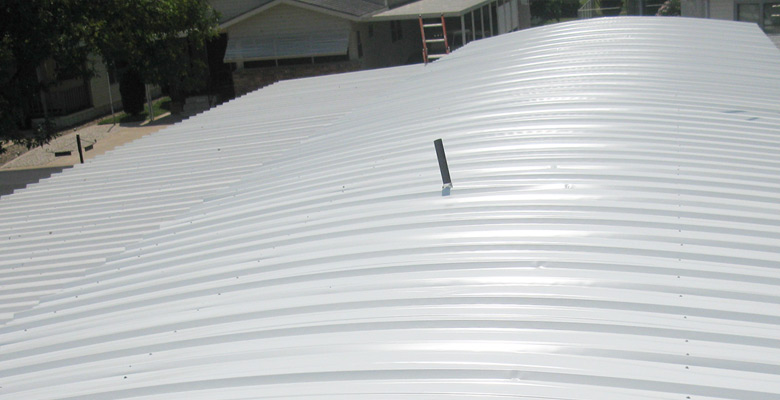 Mobile Home Metal Roofing Options