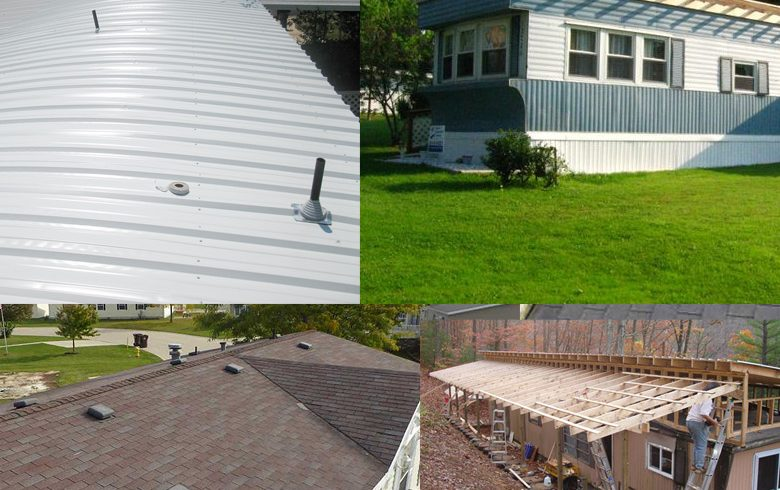 Mobile Home Roofing Options
