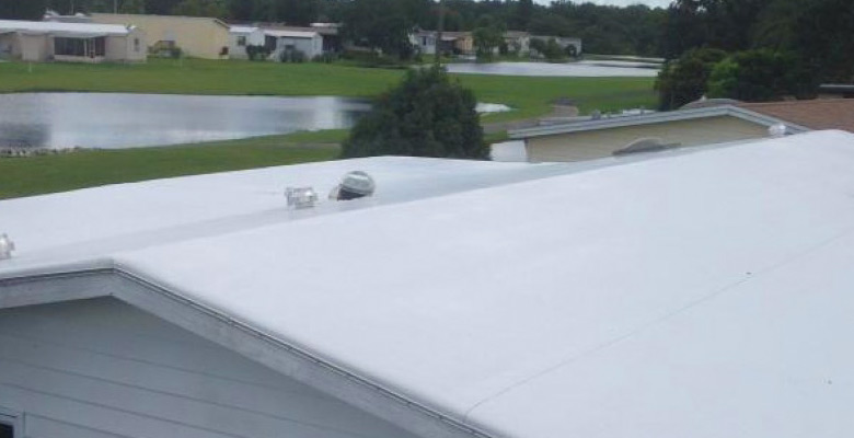 Mobile Home Rubber TPO Roofing
